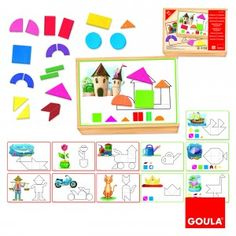 Inspiration magnetic game to do in cardboard