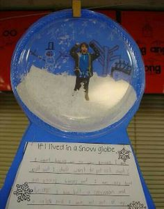 If I lived in a snowglobe winter writing