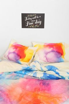 Robert Farkas For DENY Sunny Leo Pillowcase - Set Of 2 #urbanoutfitters