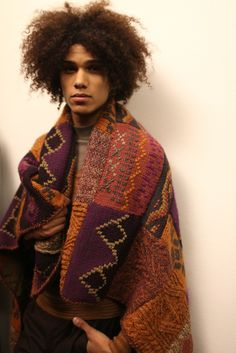 Backstage at Missoni Men's RTW Fall 2014 [Photo by Kuba Dabrowski]