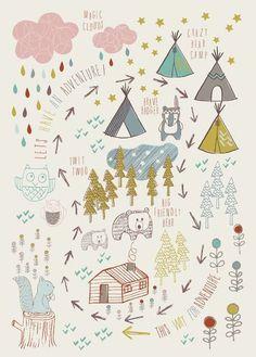 &SUUS | Kids: Kidsroom styling & prints | ensuus.nl | Indian Theme |