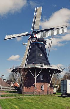 Flour mill Aeolus, Oldehove, the Netherlands