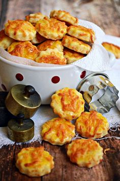 Snack Recipes, Dessert Recipes, Cooking Recipes, Savory Pastry, Salty Snacks, Hungarian Recipes, Bakery, Food And Drink, Yummy Food