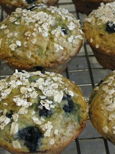 The Family Chef: GF Blueberry Muffin