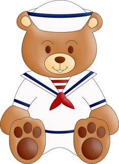 co urso marinheiro urso png