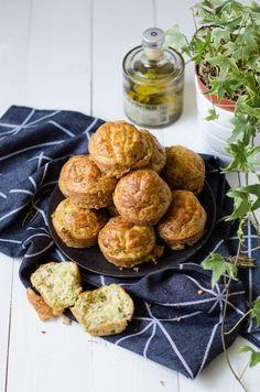 Muffins aux courgettes et son d'avoine