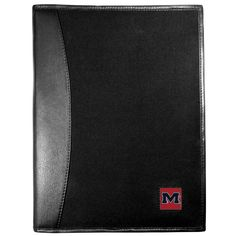 """Checkout our #LicensedGear products FREE SHIPPING + 10% OFF Coupon Code """"Official"""" Mississippi Rebels Leather and Canvas Padfolio - Officially licensed College product Bound in fine grain leather Durable canvas finish with nylon interior 6 card slots for badges, business cards, hotel keys and more Fully cast metal Mississippi Rebels emblem making it the perfect gift for the sports loving business professional in your life - Price: $46.00. Buy now at…"""