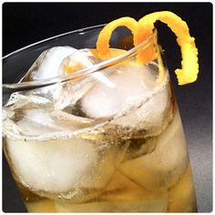 Loch Almond | 1-1/2 oz whisky, 1-1/2 oz amaretto , ginger ale  Fill a highball glass with ice. Pour amaretto and whisky over ice and top off with ginger ale. Garnish with twist of orange.