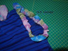 #Refashion #maglia con volant - video - 123ricreo