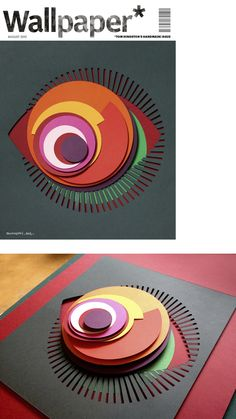 Wallpaper* Magazine handmade cover by Tom Hingston Studio