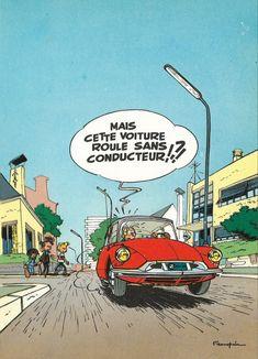 Italian Sculptors, Car Illustration, Citroen Ds, Artist Gallery, Illustrations And Posters, Custom Art, Character Concept, Comic Strips, Caricature