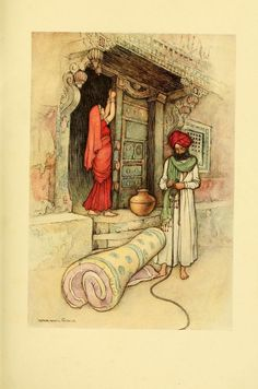 Folk Tales of Bengal is a book by Reverend Lal Behari Day with illustrations in colour by Warwick Goble.