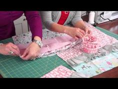 Jina's Holiday Hand Towel Tutorial at Riley Blake! A cute decorative towel great to give or to add some holiday cheer in a bathroom or kitchen! The possibilities are endless with thousands of fabrics to choose from at the Fabric Shack at http://www.fabricshack.com/cgi-bin/Store/store.cgi
