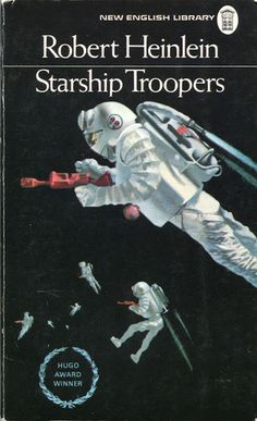 Starship Troopers by Robert Heinlein (there are differences between the book and the film)