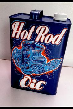 Hot rod oil can by humble beast
