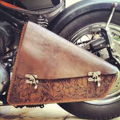 For the chopper jockey who likes to have some storage space. Chopper Luggage Saddle Bags are custom designed to fit each customers bike. Cookie cut...