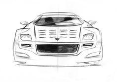 New Lancia Stratos Design Sketch