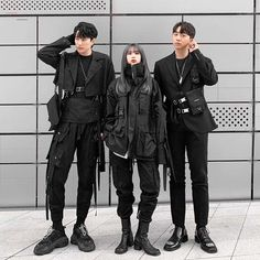 Fashion Week is now a graduate of Grunge Outfits Fashion graduate TECHWEAR Week Kpop Outfits, Edgy Outfits, Grunge Outfits, Fashion Outfits, Frock Fashion, 70s Fashion, Grunge Fashion, Fashion Wear, Fashion Tips