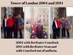 Tower of London 2004 and 2014