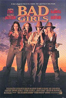 Imagine Pussy Riot as a country act: Madeleine Stowe, Mary Stuart Masterson, Andie MacDowell and Drew Barrymore as unhappy hookers pursued by a male justice system.