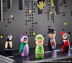 DC Super-Villains Figurines Set #pbkids