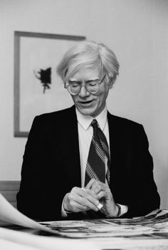 Andy Warhol by Isolde Ohlbaum (1980).