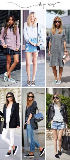 Sneakers Mujer Outfit Slip On 52 Ideas Dress And Sneakers Outfit, Sneakers Fashion Outfits, My Outfit, Casual Outfits, Outfit Ideas, Love Fashion, Fashion Looks, Womens Fashion, Mode Hijab