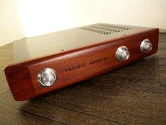 "Music Angle ""Marantz 7"" Pre-Amplifier - Tube/Valve Pre Amp @ on9mart.com Bluetooth, Tube, Audio, Amp, Electronics, Ideas, Thoughts, Consumer Electronics"