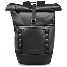 Keep your gear dry while you get dirty. The Pacsafe Dry Lite Anti-Theft pack is made of water-resistant ripstop material and a lockable roll-top closure to protect it all from weather and worry. Nylons, Anti Theft Backpack, Cyber Monday Deals, Black Friday Deals, Pouch, Backpacks, Products, Weather