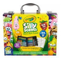 Crayola Silly Scents Mini Art Case for women on shoulder for women underboob for women on side Twistable Crayons, Crayola Art, Barbie Coloring Pages, Art Case, Christmas Gifts For Kids, Christmas Images, Halloween Disfraces, Stationery Set, Art For Kids