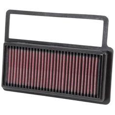 K/&N 33-2966 Hi-Flow Air Intake Drop in Filter for Chevrolet Buick *See Detail*