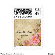 Sold. #Vintage #Roses Postage #Stamp Available in different products. Check more at www.zazzle.com/celebrationideas
