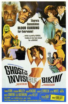 The Ghost in the Invisible Bikini Premiered 6 April 1966
