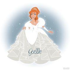 Giselle, Enchanted, Disney Princess, Disney Fan Art