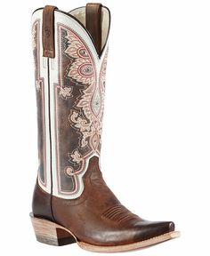 76ddce1e03cb Ariat Alameda Vintage Cowgirl Boots - Snip Toe Ariat Work Boots