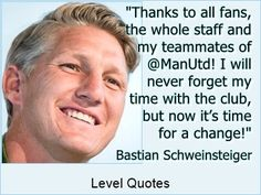 Schweinsteiger To Join Chicago Fire   English Premier League club Manchester United have confirmed that Bastian Schweinsteiger has agreed to join Major League Soccer side Chicago Fire.  http://levelquotes.blogspot.com.br/2017/03/schweinsteiger-to-join-chicago-fire.html  #Schweinsteiger