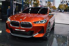 Paris 2016: BMW X2 Concept LIVE PHOTOS - http://www.bmwblog.com/2016/09/29/paris-2016-bmw-x2-concept-live-photos/