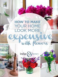 Elevate your space with flowers | Indigo & Honey