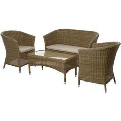 Worcester Sofa Set Garden Furniture, Outdoor Furniture Sets, Garden Sofa Set, Outdoor Chairs, Outdoor Decor, Ottoman, Worcester, Diy, House
