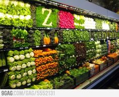Great Fresh Produce Display !