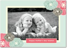 Spring Chic - Mother's Day Greeting Cards in Aloe | Hello Little One