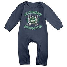 Dara Slytherin Quidditch Boys  Girls Long Sleeve Jumpsuit Outfits Navy 24 Months -- You can find out more details at the link of the image.