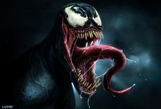 Digital Art by Dan LuVisi (Venom)