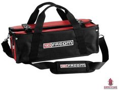 The tool bag is compact and light and its cover opens to allow quick and easy access to tools. A selection of products is also available for the general public do-it-yourself market. A player in the hand-tool sector since Facom is synonymous with quality. Vanity Case, Pvc Transparent, Compact, Le Double, Tool Supply, Pvc Coat, Textiles, Automotive Tools, Gym Bag