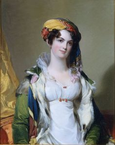 Mrs. Robert Gilmor, Jr.   (Sarah Reeve Ladson)  Painted by Thomas Sully  1823  Gibbes Museum