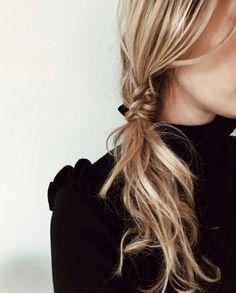 fishtail meets ponytail