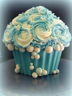 giant cupcake frozen theme - Google Search
