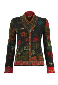 Jacket Forest Motifs - Jacket | Ivko Woman