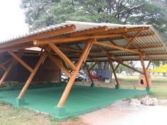 How Does Pergola Work Refferal: 1288499976 Bamboo Structure, Timber Structure, Shade Structure, Pergola Diy, Pergola Plans, Cheap Pergola, Tent Design, Roof Design, Bamboo Architecture