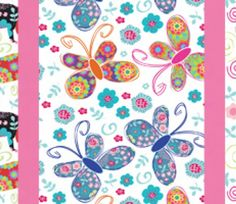 Dog, Butterfly & Bird Print Sentiments & Free Papers